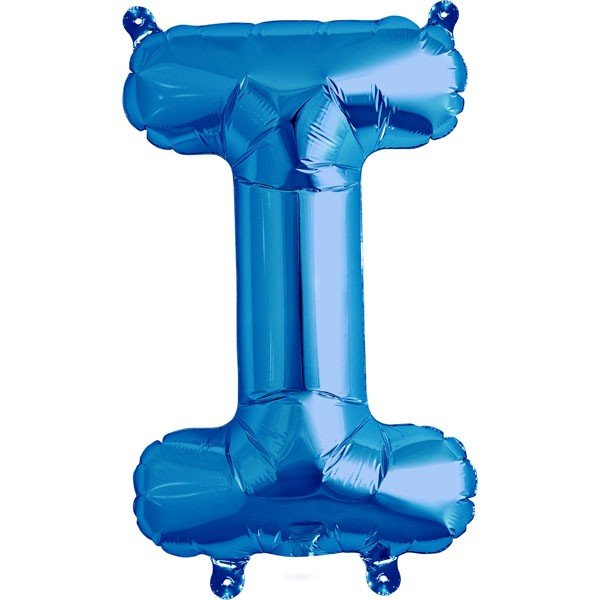 NorthStar 16 Inch Letter Balloon I Blue