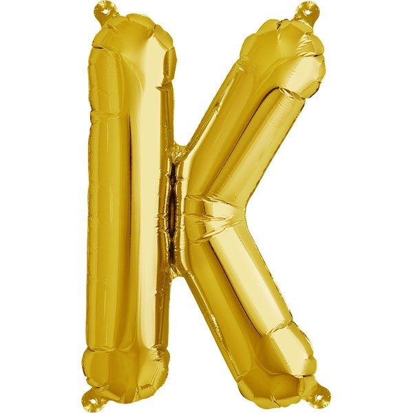 NorthStar 16 Inch Letter Balloon K Gold