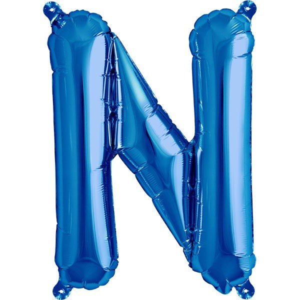 NorthStar 16 Inch Letter Balloon N Blue
