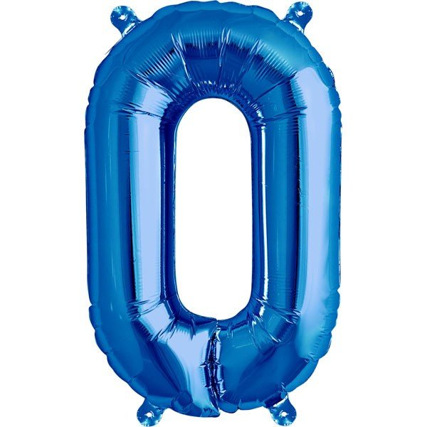 NorthStar 16 Inch Letter Balloon O Blue