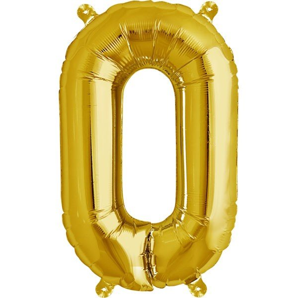 NorthStar 16 Inch Letter Balloon O Gold