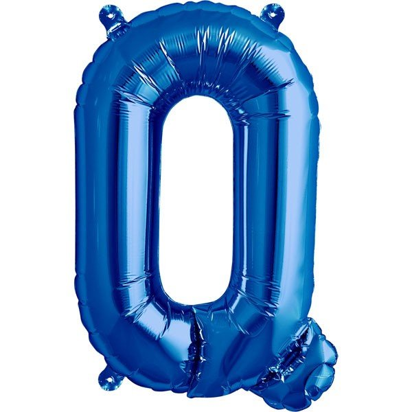 NorthStar 16 Inch Letter Balloon Q Blue