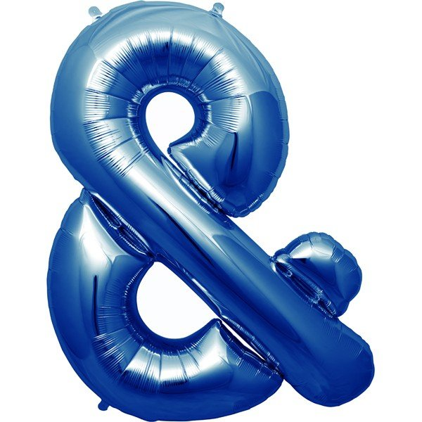 NorthStar 34 Inch Blue Foil Balloon - &