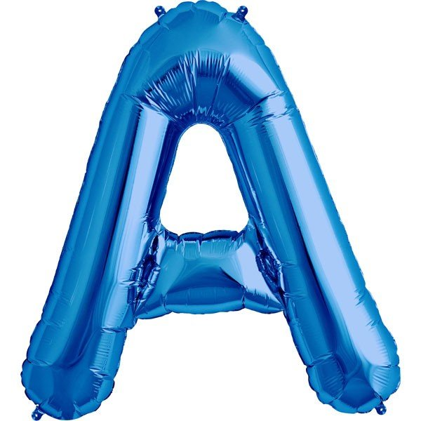 NorthStar 34 Inch Letter Balloon A Blue