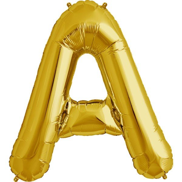 NorthStar 34 Inch Letter Balloon A Gold