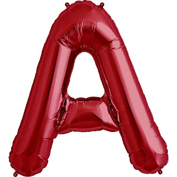 NorthStar 34 Inch Letter Balloon A Red