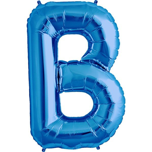 NorthStar 34 Inch Letter Balloon B Blue