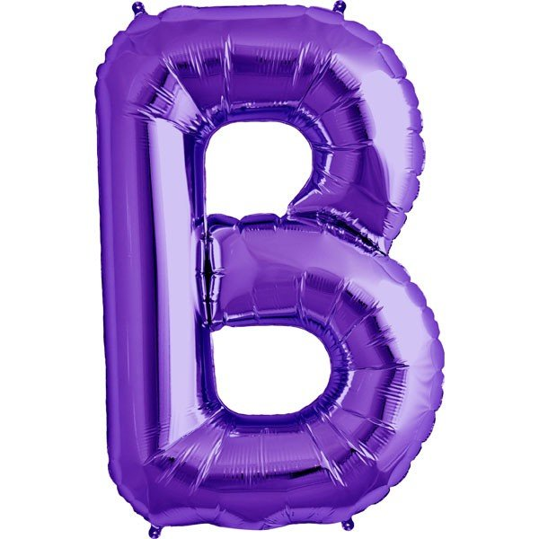 NorthStar 34 Inch Letter Balloon B Purple