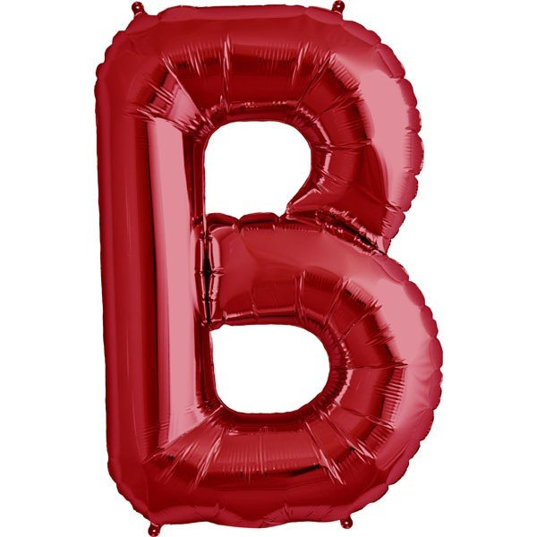 NorthStar 34 Inch Letter Balloon B Red