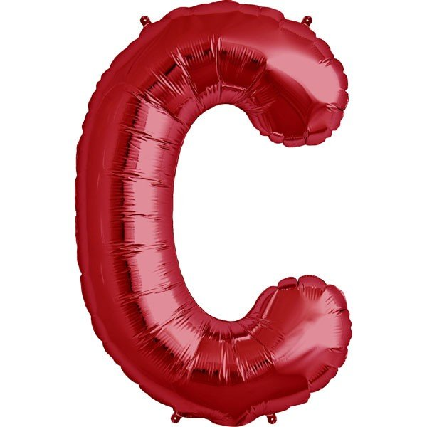 NorthStar 34 Inch Letter Balloon C Red