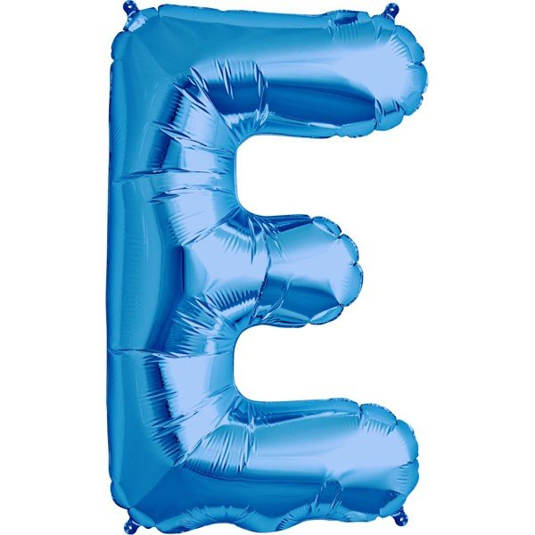 NorthStar 34 Inch Letter Balloon E Blue