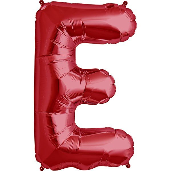 NorthStar 34 Inch Letter Balloon E Red