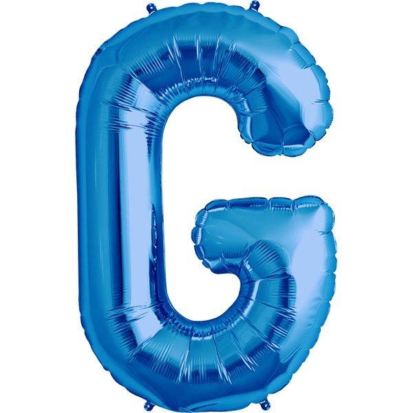 NorthStar 34 Inch Letter Balloon G Blue