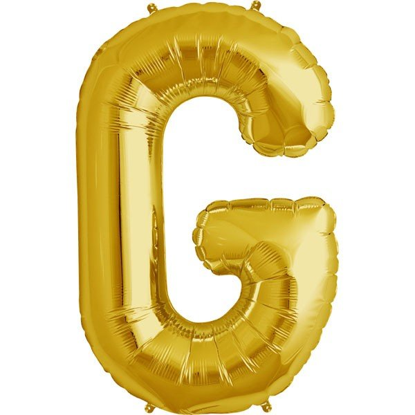 NorthStar 34 Inch Letter Balloon G Gold