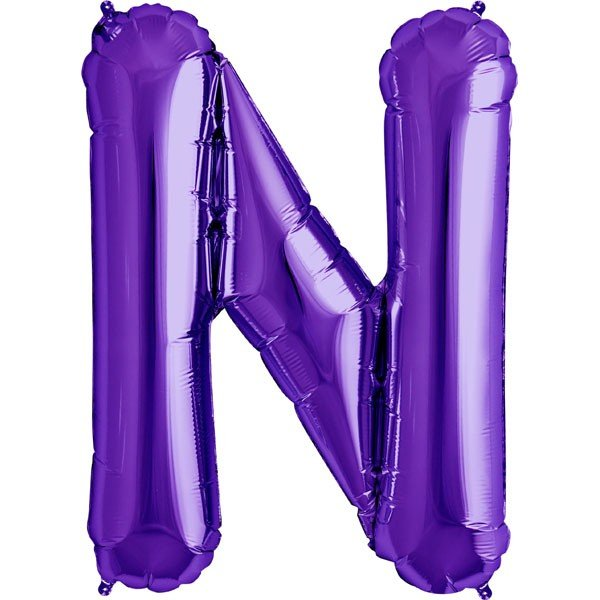 NorthStar 34 Inch Letter Balloon N Purple