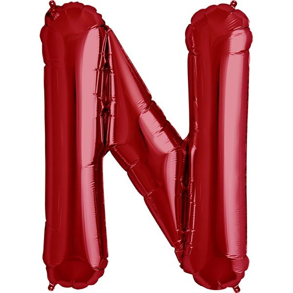 NorthStar 34 Inch Letter Balloon N Red
