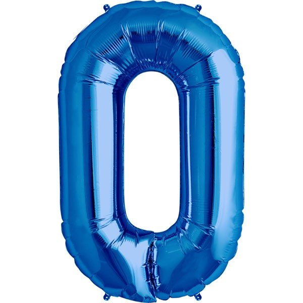 NorthStar 34 Inch Letter Balloon O Blue