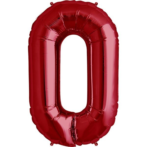 NorthStar 34 Inch Letter Balloon O Red