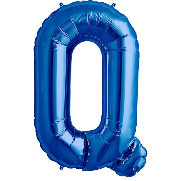 NorthStar 34 Inch Letter Balloon Q Blue