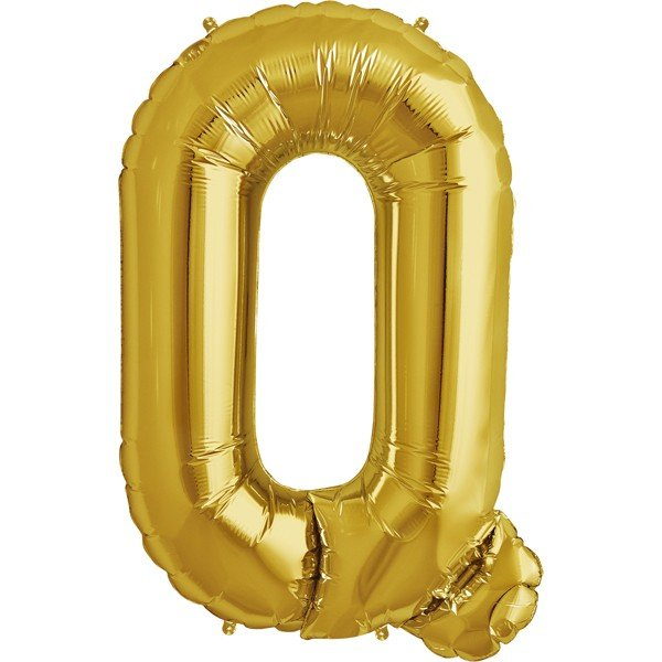 NorthStar 34 Inch Letter Balloon Q Gold