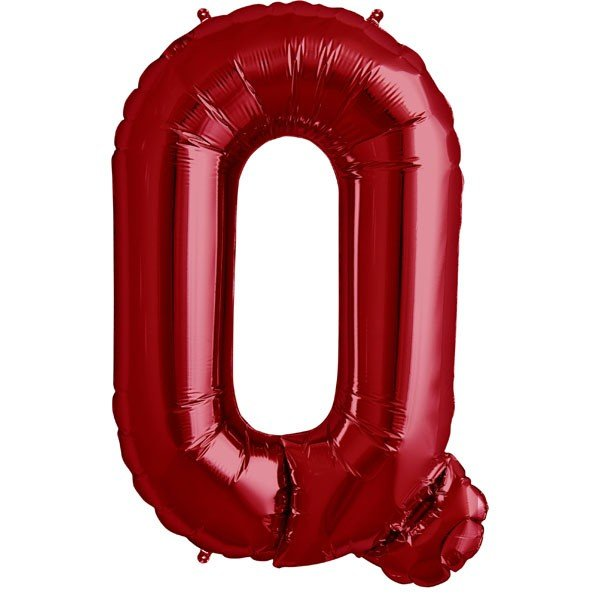 NorthStar 34 Inch Letter Balloon Q Red