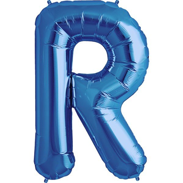 NorthStar 34 Inch Letter Balloon R Blue