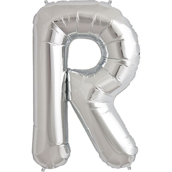 NorthStar 34 Inch Letter Balloon R Silver