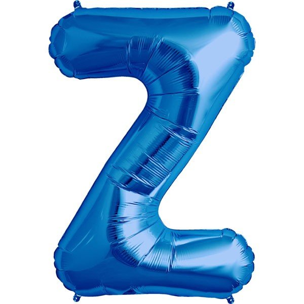 NorthStar 34 Inch Letter Balloon Z Blue