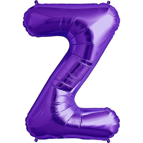 NorthStar 34 Inch Letter Balloon Z Purple