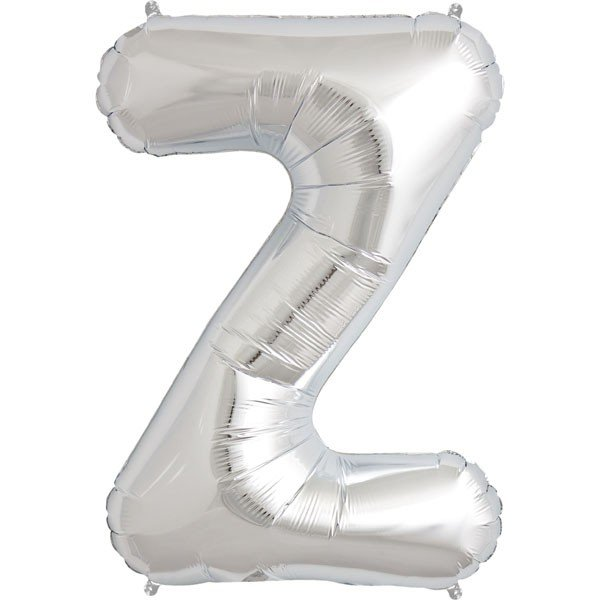 NorthStar 34 Inch Letter Balloon Z Silver