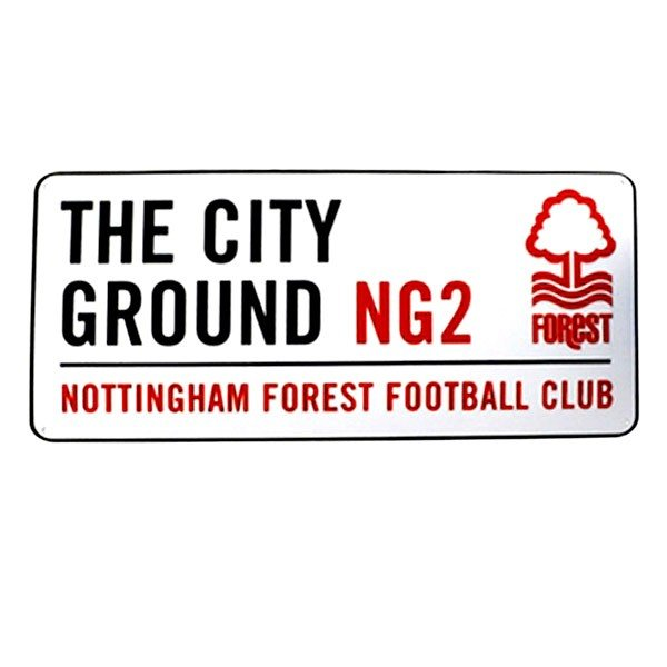 Nottingham Forest Street Sign