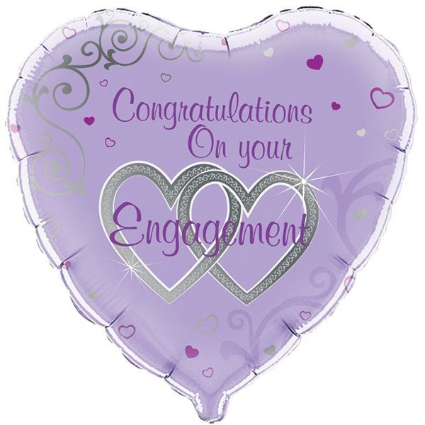 Oaktree 18 Inch Congratulations On Your Engagement