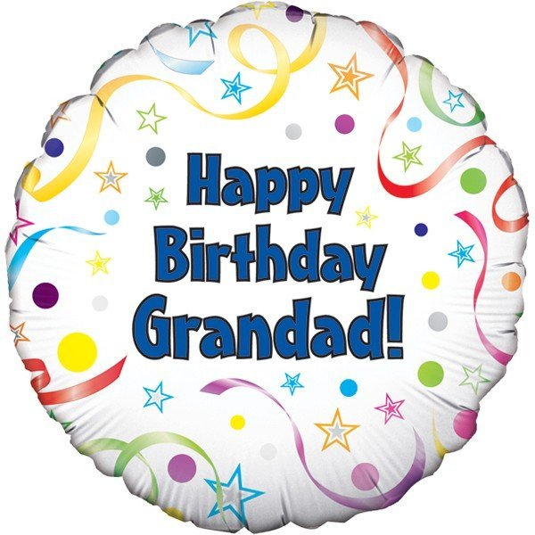Oaktree 18 Inch Happy Birthday Grandad