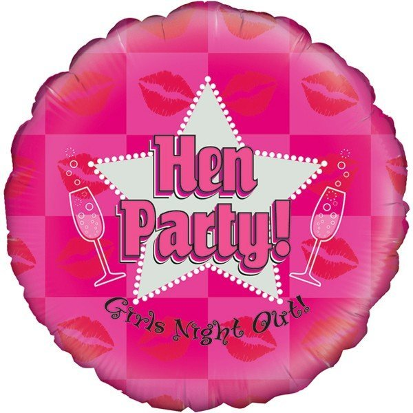 Oaktree 18 Inch Hen Party Holographic