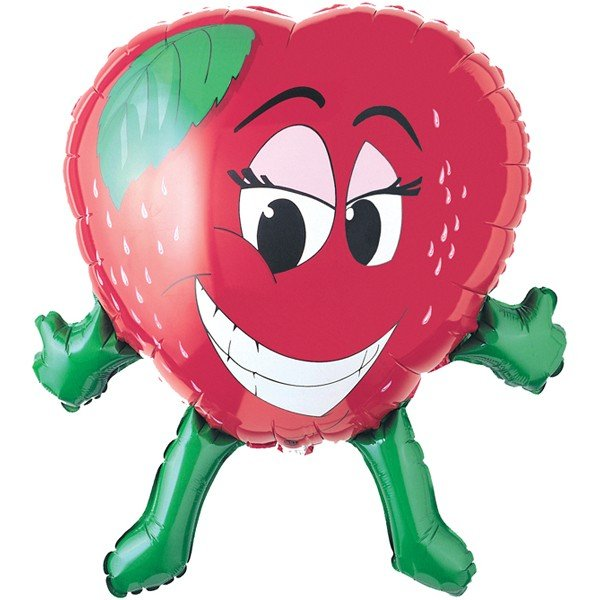 Oaktree Betallic 27 Inch Shape Strawberry Packaged