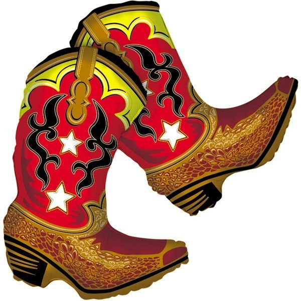 Oaktree Betallic 36 Inch Shape Dancing Boots Packaged
