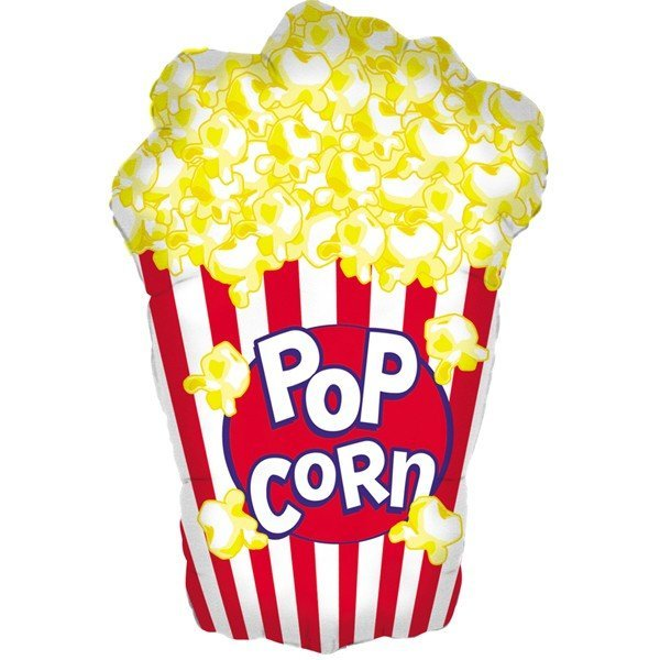 Oaktree Betallic 38 Inch Shape Popcorn Shape Packaged