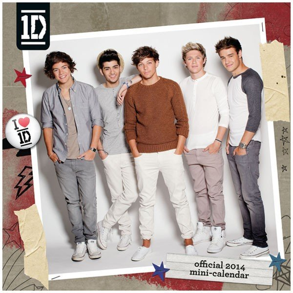 One Direction 2014 Mini Calendar
