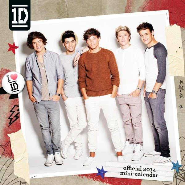 One Direction 2014 Sqaure Wall