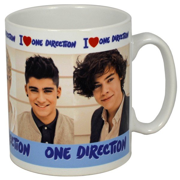 One Direction I Love Boxed Mug