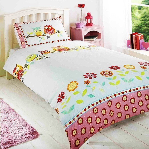 Owls Single Duvet Set