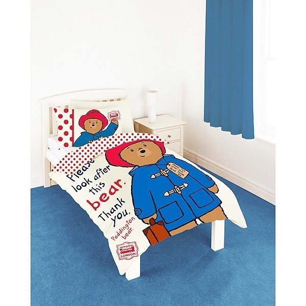 Paddington Bear Single Duvet