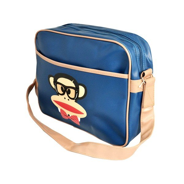 Paul Frank Geek Monkey Shoulder Bag - Navy