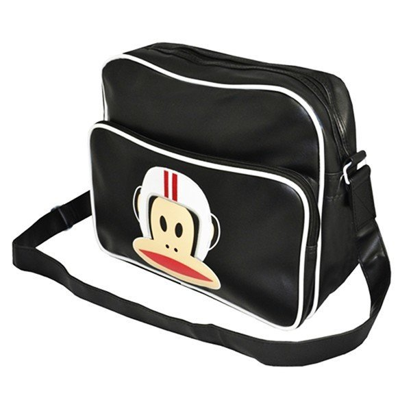 Paul Frank Unisex Despatch Shoulder Bag - Black