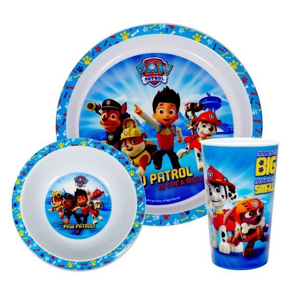 Paw Patrol 3PC Dinner Set