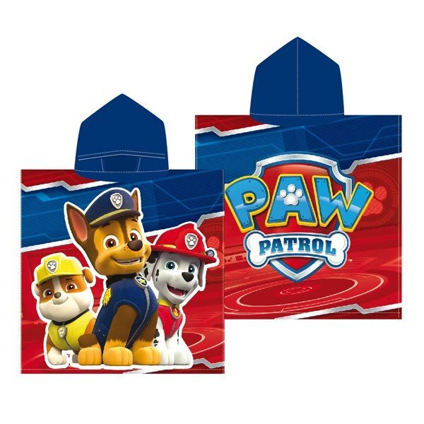 Paw Patrol Hooded Poncho