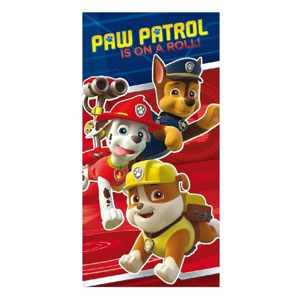 Paw Patrol Towel - Is On A Roll