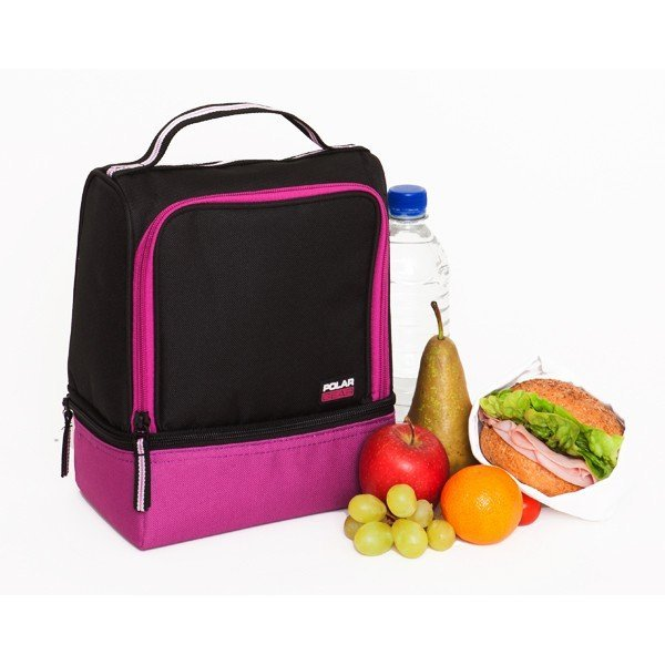 Polar Gear Active Lunch 2 Compartment Raspberry