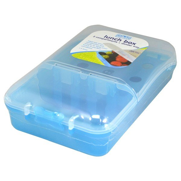 Polar Gear Lunch Box 2 Compartment 1.5 L - Turquoise