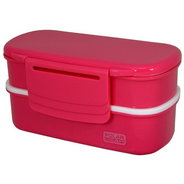 Polar Gear Novo Bento Lunch Box - Pink